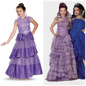 Descendants Mal Coronation Dress